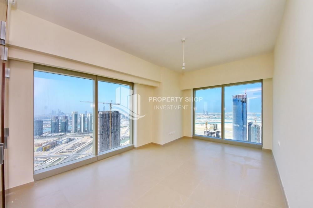 Bedroom - High floor 3+M Unit with Sea View.