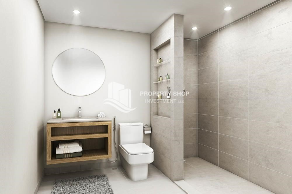 Bathroom - Pay AED 52,000 down payment for 1 bedroom | free ADM fees | zero commission