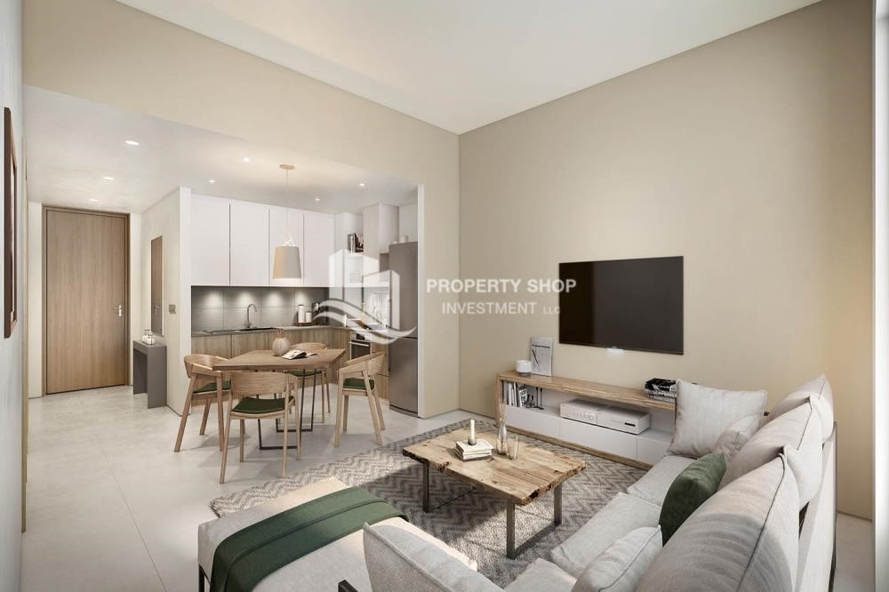 Dining Room - Pay AED 52,000 down payment for 1 bedroom | free ADM fees | zero commission
