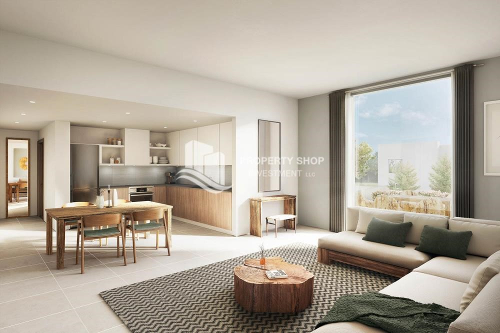 Living Room - Pay AED 52,000 down payment for 1 bedroom | free ADM fees | zero commission