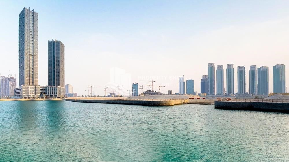 Community - Horizon Towers 1 Bedroom Apartment for rent in Al Reem Island