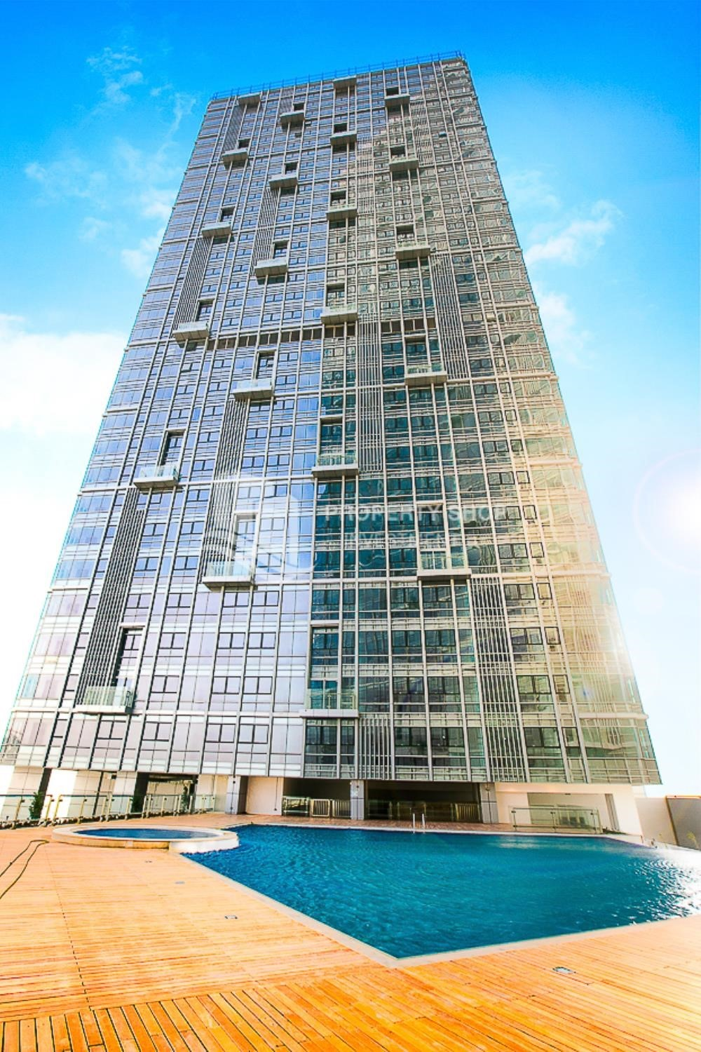 Property - Horizon Towers 1 Bedroom Apartment for rent in Al Reem Island