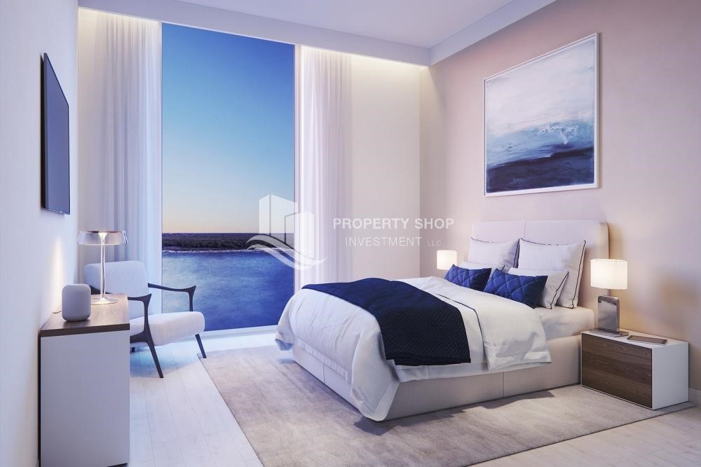 Bedroom - 3BR+M in a brand new community in Yas Island.