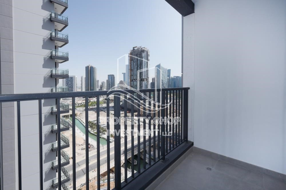 Balcony - 1BR apartment with Pool view for sale in The Bridges!