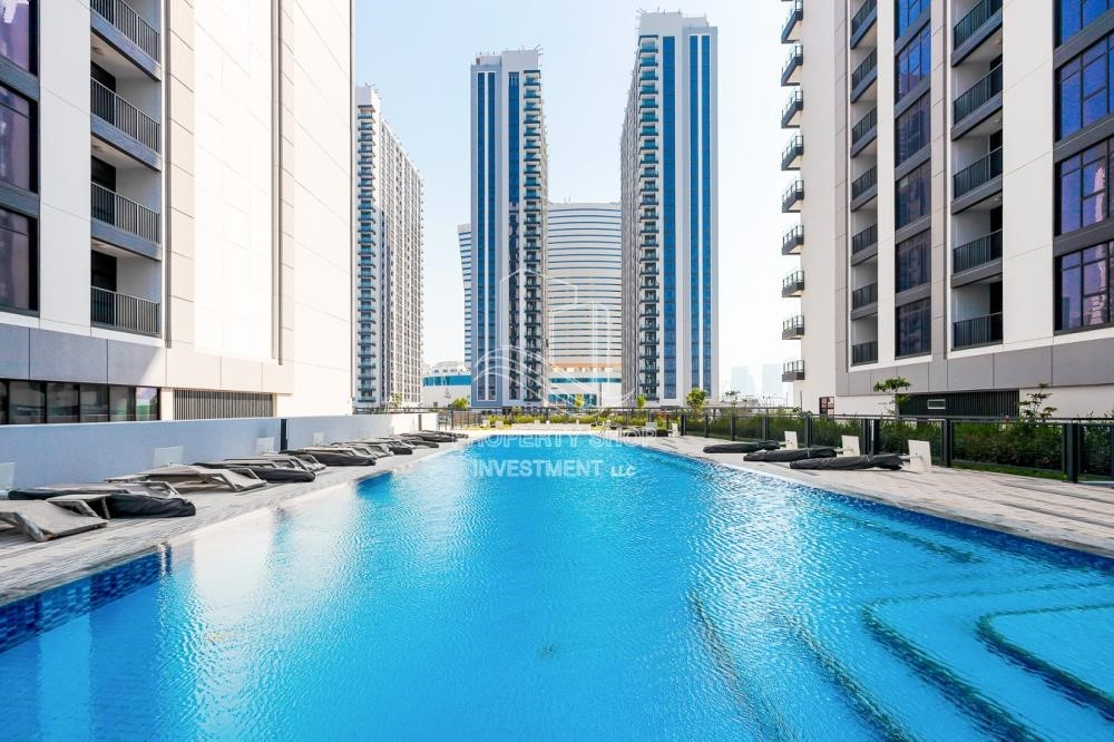 Facilities - 1BR apartment with Pool view for sale in The Bridges!