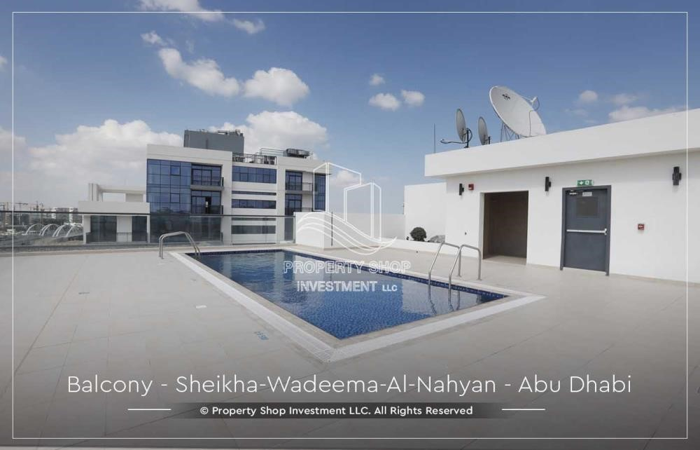 Facilities - Relaxed Ambiance in Al Raha Beach, 2BR+M Apt Available for rent!