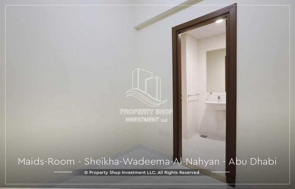 Maid Room - Relaxed Ambiance in Al Raha Beach, 2BR+M Apt Available for rent!
