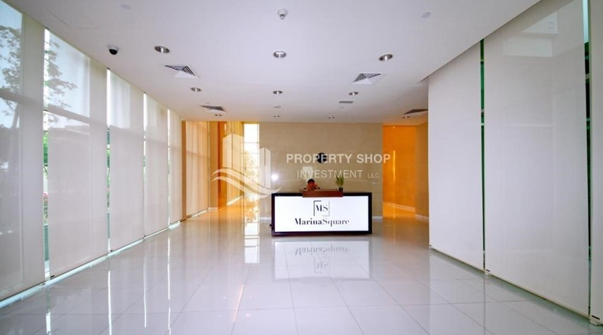 Reception-2 Bedroom Apartment in Burooj View, Marina Square FOR RENT!