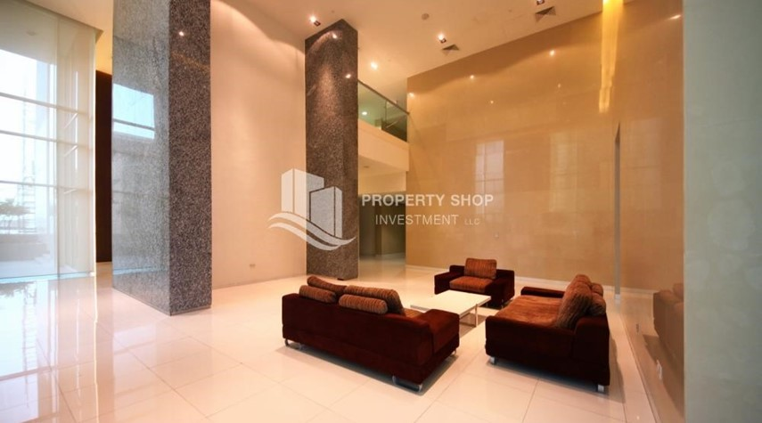 Sitting Area-2 Bedroom Apartment in Burooj View, Marina Square FOR RENT!