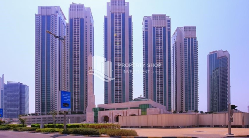 Community-2 Bedroom Apartment in Burooj View, Marina Square FOR RENT!