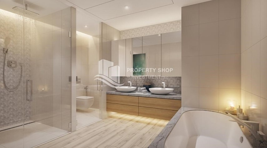 Bathroom-Get a chance to own a property in a luxurious community in Mayan, Yas Island.