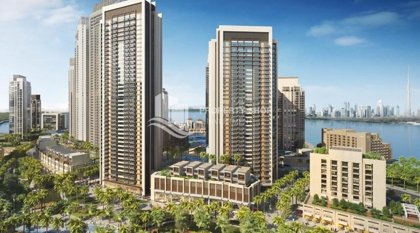 Property-3BR apartment plus maid's room available in Creek Horizon, Dubai.