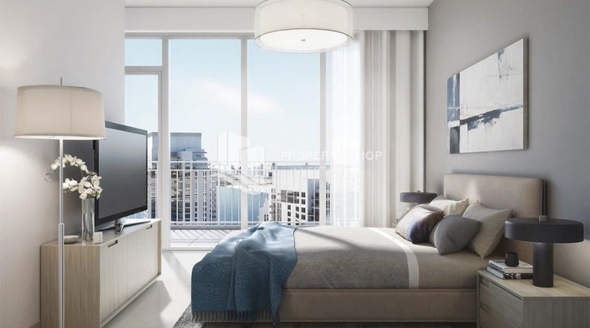 Bedroom-3BR apartment plus maid's room available in Creek Horizon, Dubai.