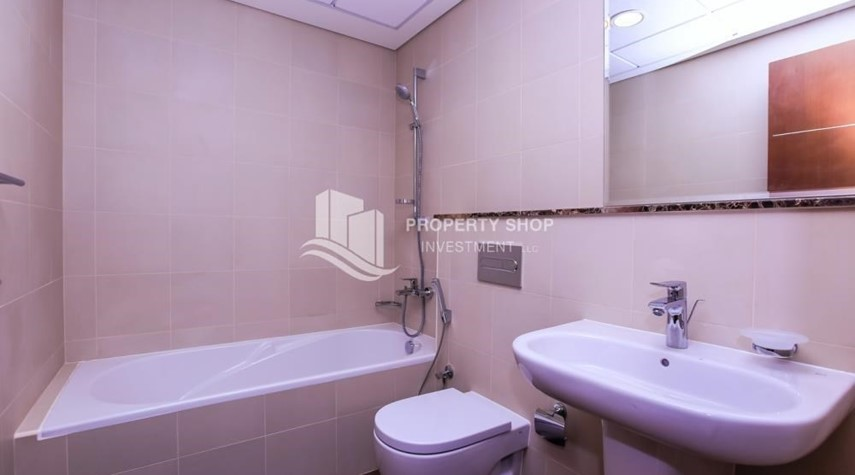 Bathroom-Affordable, 3BR Apartment + Maid, Laundry Room in Wave Tower
