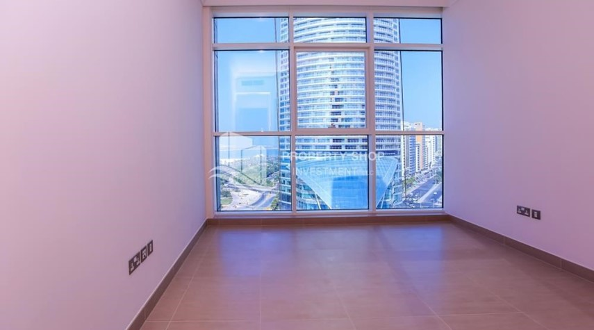 Bedroom-Affordable, 3BR Apartment + Maid, Laundry Room in Wave Tower