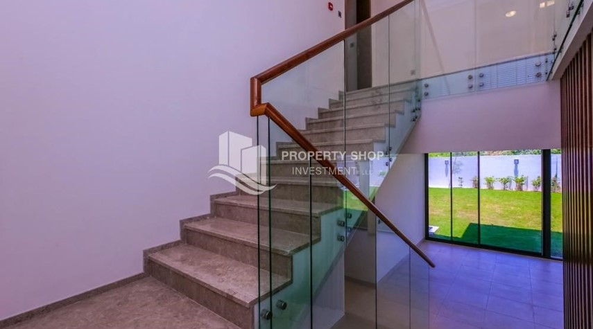 Stairs-Get a chance to own a property in an exquisite community in West Yas.