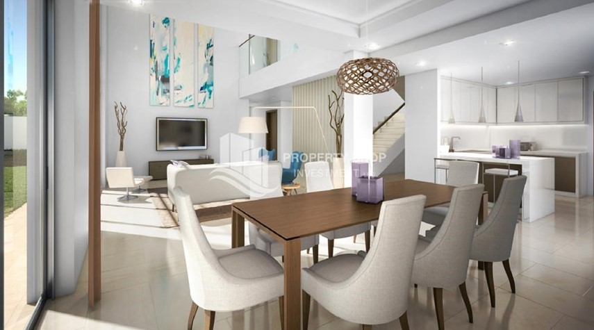 Dining Room-High End TH with Study + Excellent Location