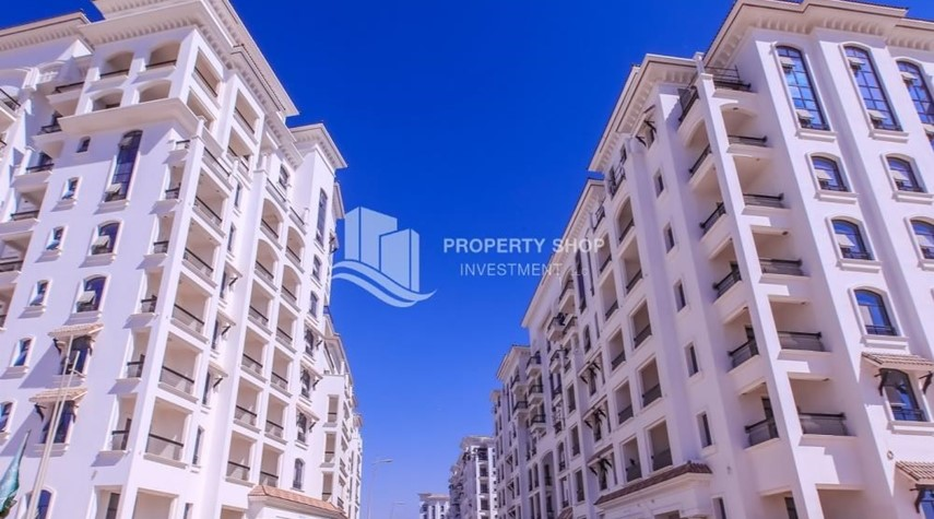 Property-Low Premium with Mosque and Ferrari World view.