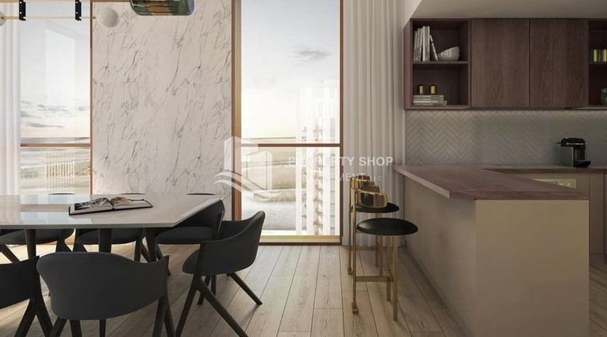 Dining Room-Direct from ALDAR! Own an excellent apartment with world-class amenities