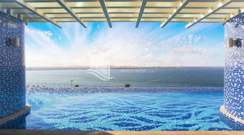 Facilities-Spacious 4BR Apt with City and Partialy sea view