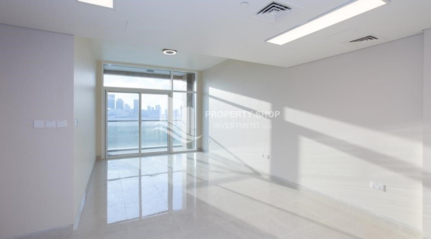 Living Room-Brand New! 3BR For rent in Al Qurm View