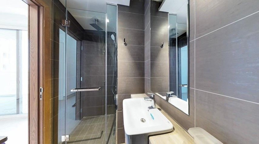 Bathroom-Offering 2br with the highest standard of finishing overlooking waterfront canals
