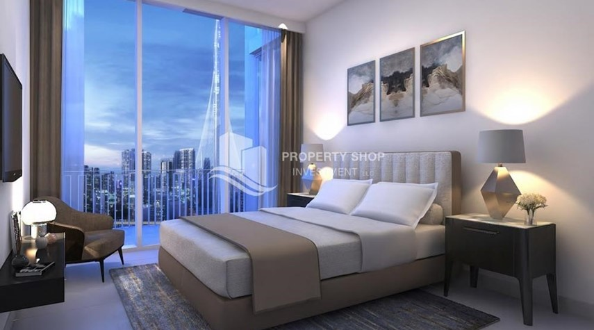 Bedroom-3BR Apt overlooking the beautiful Dubai landscape