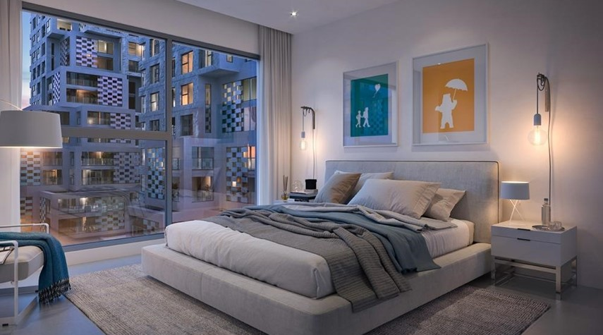 Master Bedroom-Contemporary layouts with bright spaces. 5% down payment & 3 years post-handover.