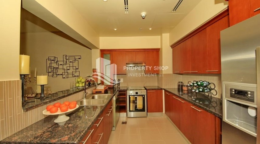 Kitchen-1br Apartment in Saadiyat Island Ready to Move in Now!