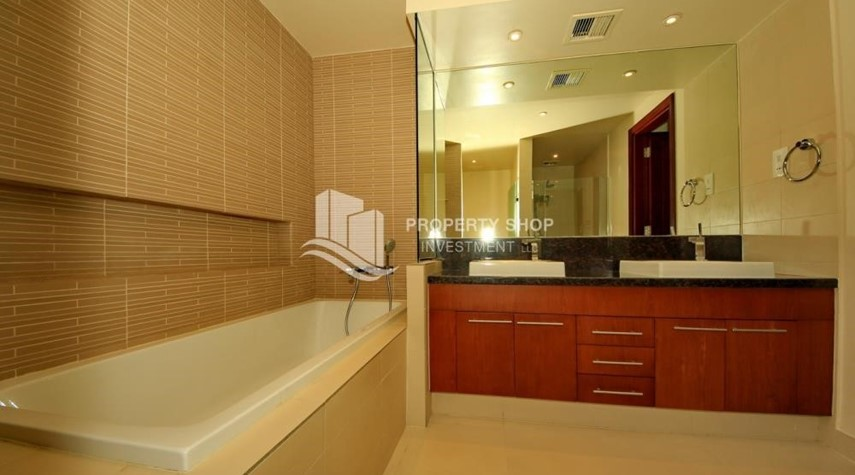Bathroom-1br Apartment in Saadiyat Island Ready to Move in Now!