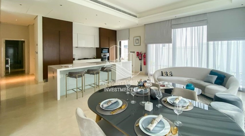 Dining Room-Double Row Middle villa with Premium design and modern features.