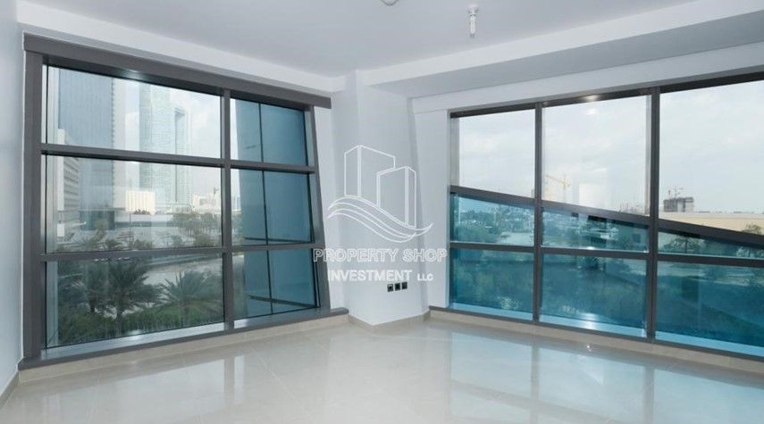 Bedroom-Well Maintained 1BR Apt for rent in Etihad Towers 4.