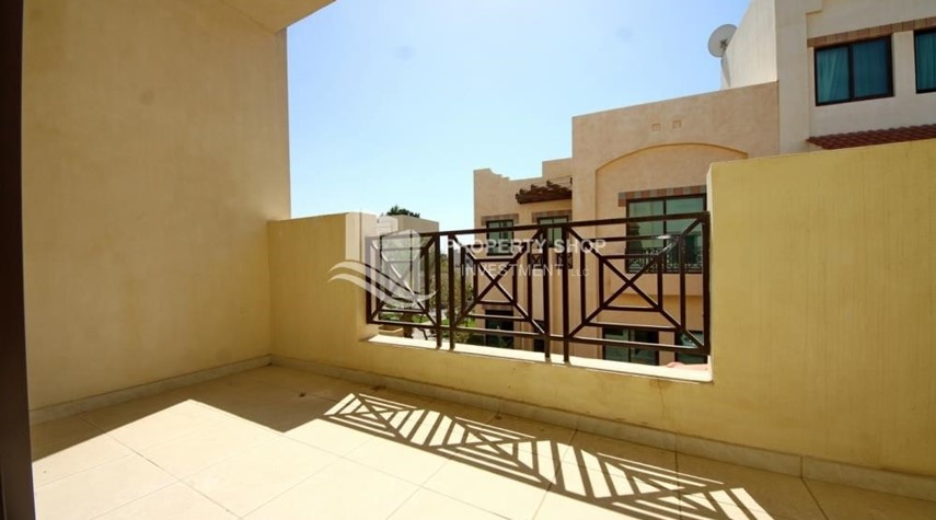 Terrace-Creative interior design, 5BR+M Villa with Balcony, Terrace, 12 Payments