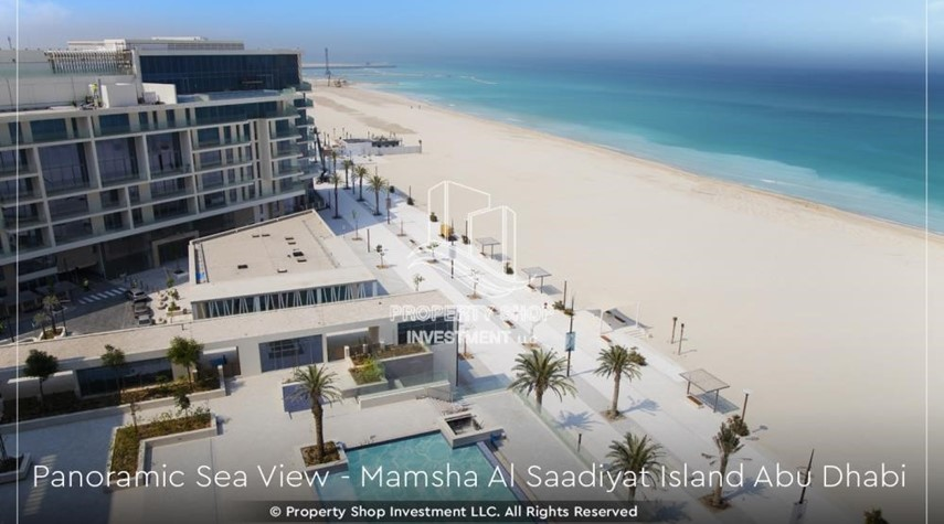 Community-Get a chance to own a property in a luxurious community in Saadiyat Island.