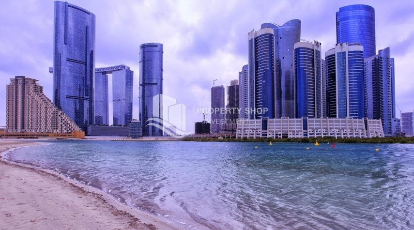 Community-Spacious Sea View 1+M BR with balcony.