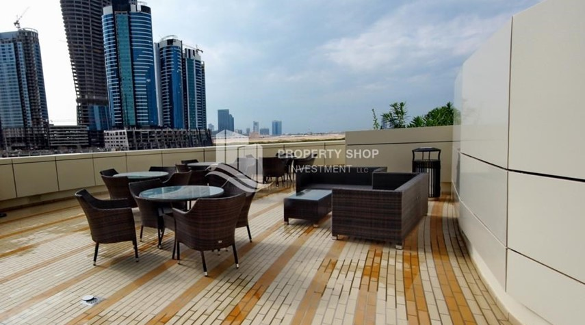 Facilities-Spacious Sea View 1+M BR with balcony.