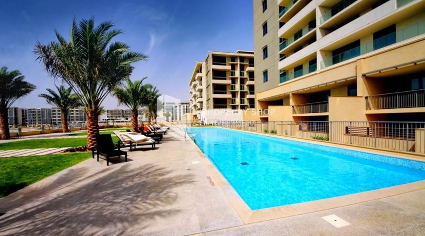 Facilities-Well Maintained 1BR Apt in Al Zeina Available for rent, up to 12 cheques and 0 commission!