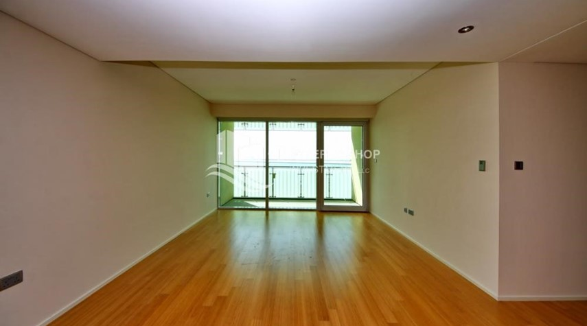 Living Room-Spacious 3 + M with walk in closet and full sea view!