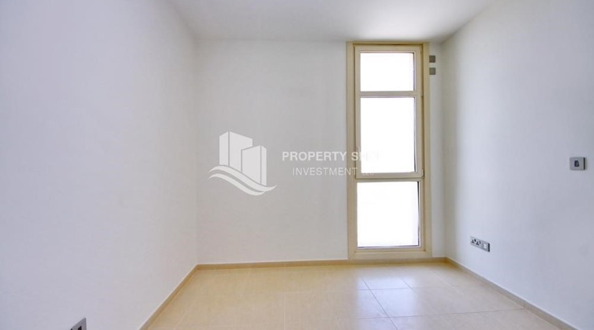 Bedroom-2BR with built in cabinet & balcony for rent in Mangrove Place.