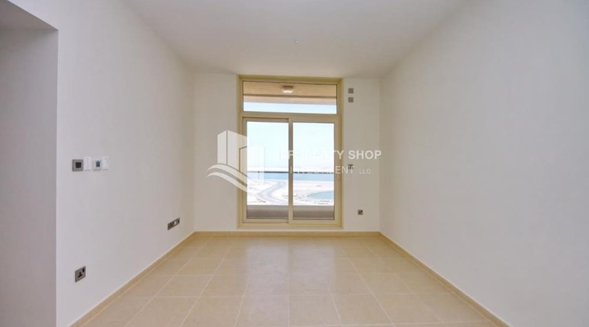 Living Room-2BR with built in cabinet & balcony for rent in Mangrove Place.