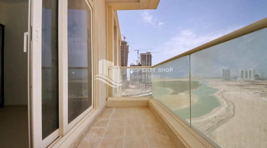 Balcony-2BR with balcony in Mangrove Place for rent.