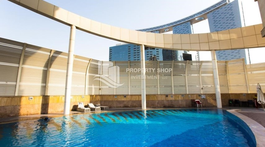 Facilities-2BR with balcony in Mangrove Place for rent.