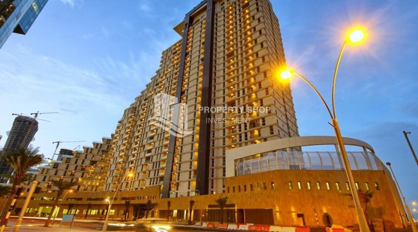 Property-2BR with balcony in Mangrove Place for rent.