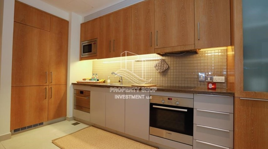 Kitchen-Luxurious Furnished Studio with Parking in St. Regis.