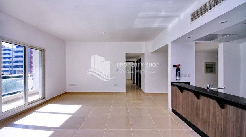 Living Room-2 Bedroom Apartment in Al Reef Downtown FOR RENT by first week of July!