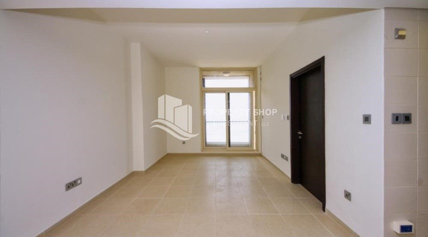 Living Room-1BR with balcony in Mangrove Place available now!