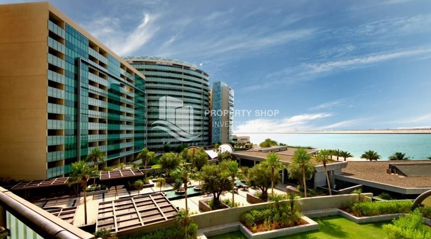 Community-Spacious 3+M BR Apt with Partial Sea View