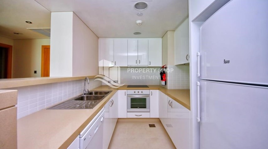 Kitchen-Spacious 3+M BR Apt with Partial Sea View