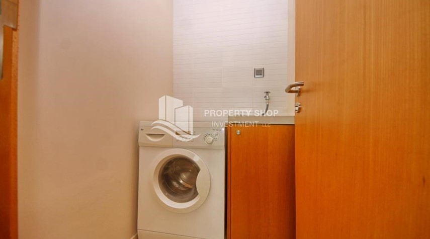 Laundry Room-Spacious 3+M BR Apt with Partial Sea View