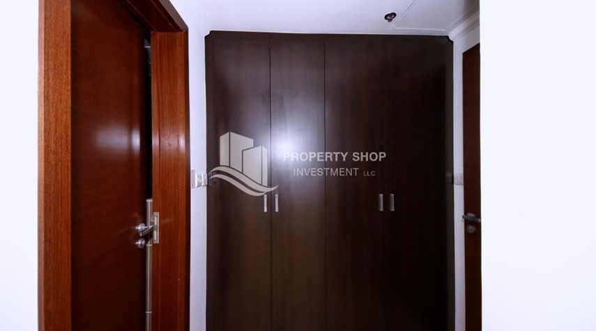 Built in Wardrobe-Sea view unit with full facilities.